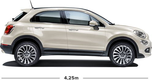 Fiat 500X City Look, der Kompakt SUV