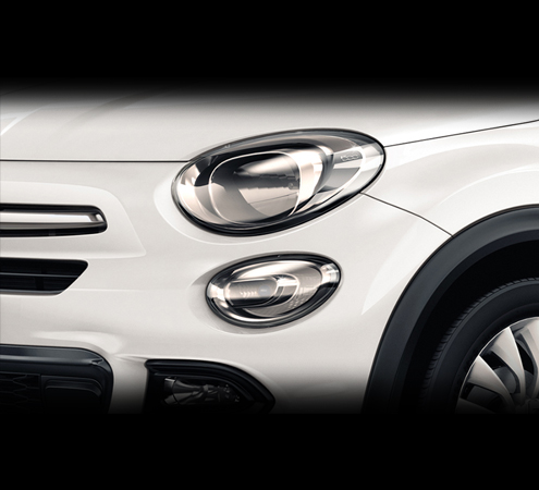 : Fiat 500X City Look Scheinwerfer