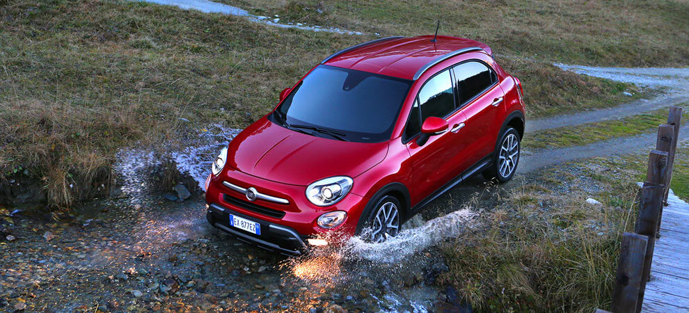 Fiat 500X Off-Road Look Rot Mini-Suv