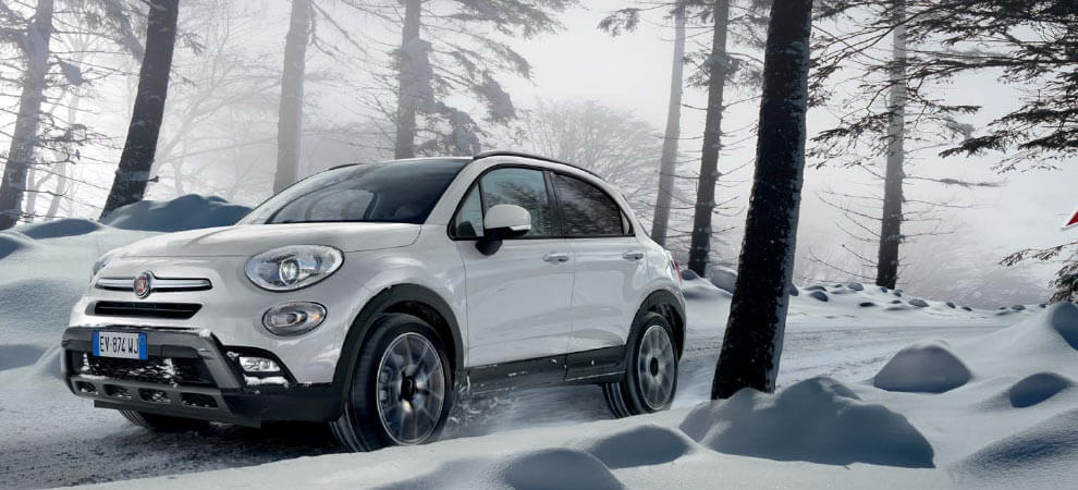 Fiat 500X Off-Road Look im Winter