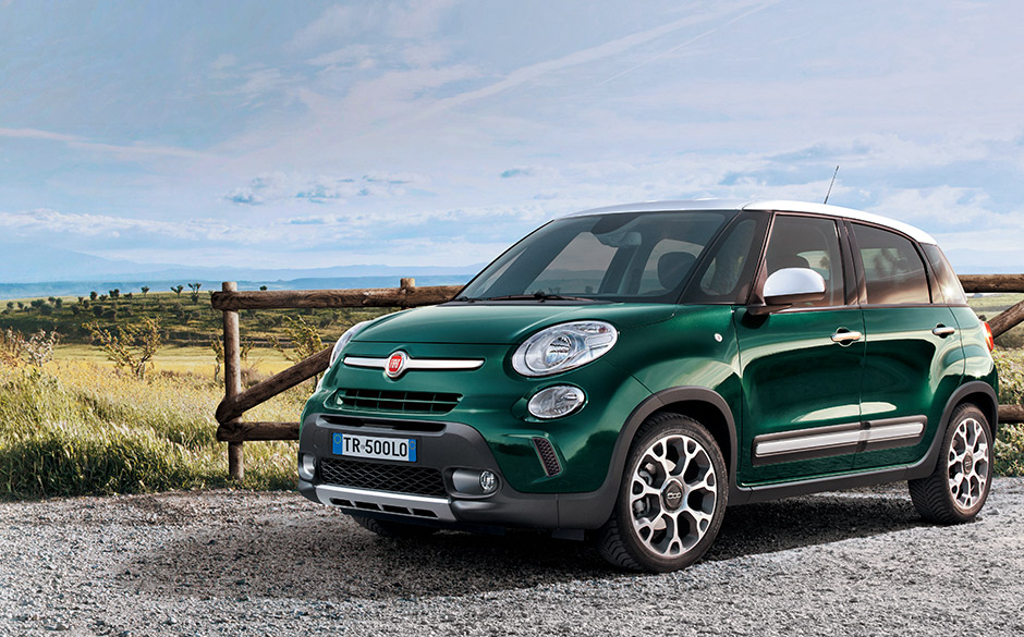 fiat 500l trekking bersicht fiat deutschland. Black Bedroom Furniture Sets. Home Design Ideas
