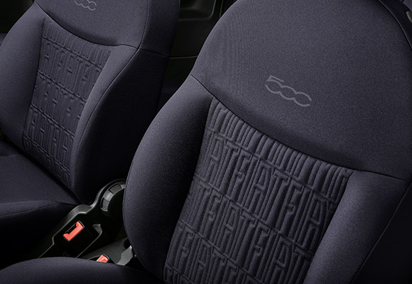 NEW SEATS WITH FIAT MONOGRAM