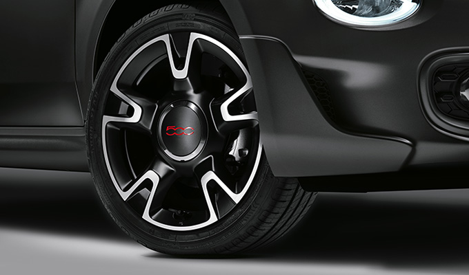 16'' sporty alloy wheels