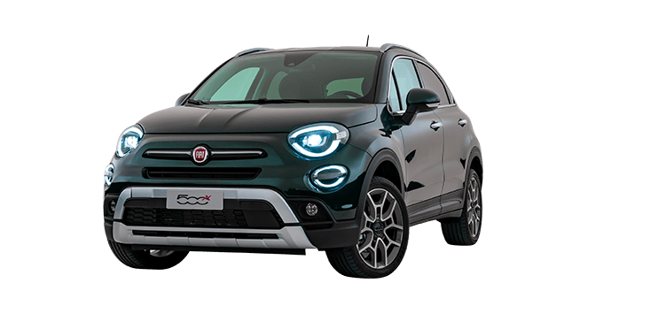 Verrassend Fiat 500X City Cross und Cross Look | 4x4 | Kleine Crossover ZI-37