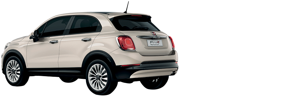 fiat 500x city look. Black Bedroom Furniture Sets. Home Design Ideas